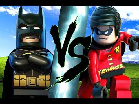 Lego Batman vs Robin
