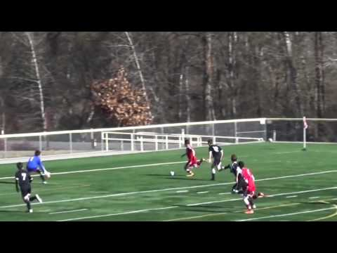 Jahnoi Hall  College Soccer Recruiting Highlight Video  Class of 2018
