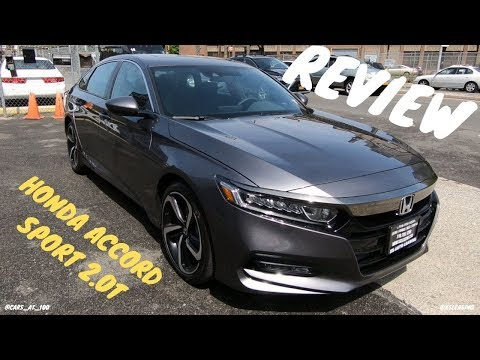 2019 HONDA ACCORD SPORT 2.0T REVIEW -- A HONDA SEDAN WITH TYPE-R ENGINE !