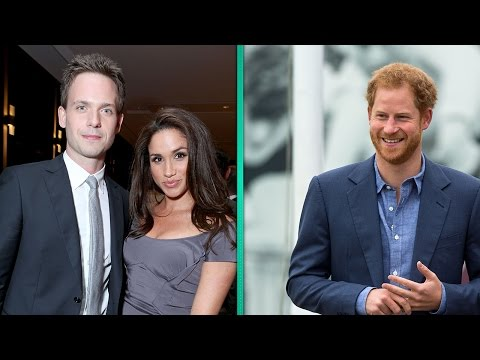 EXCLUSIVE: Patrick J. Adams Says He's 'Super Happy' for 'Suits' CoStar Meghan Markle & Prince Ha…