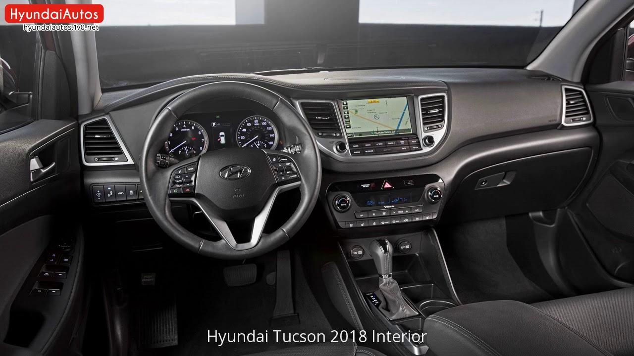 Superb Hyundai Tucson 2018 Interior Pictures Gallery