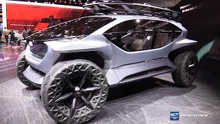 Audi Al:Trail Electric Off Road Concept -Exterior Interior Walkaround - 2019 IAA Frankfurt Auto Show