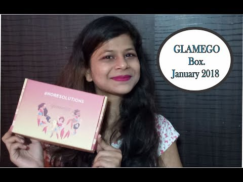 Glamego Box January 2018 | India's No 1 Beauty Box | Unboxing & Review Just for Rs 299