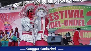 Festival Ondel ondel Bintaro Sanggar SaniKelwi
