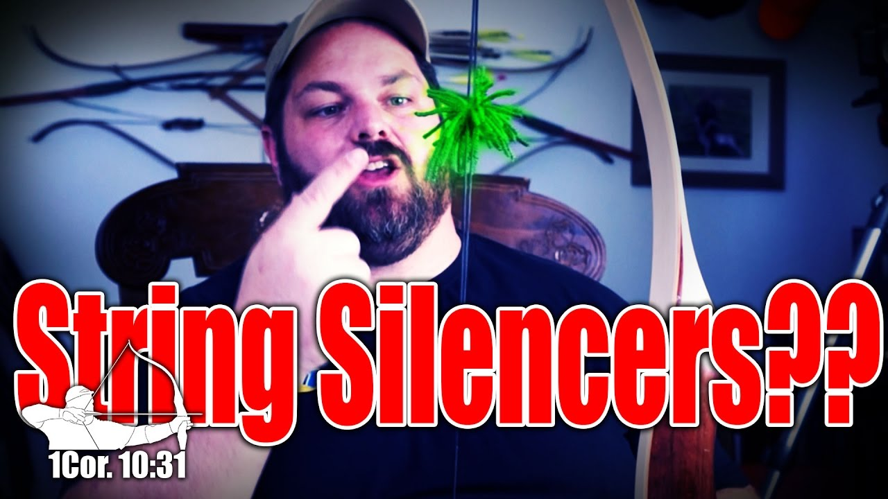 how to make string silencers from yarn
