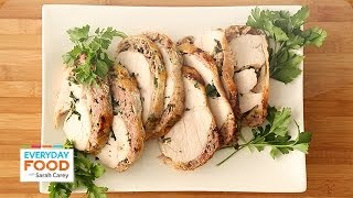 Stuffed Turkey Breast - Everyday Food With Sarah Carey