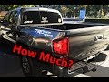 COST TO FILL UP + AVERAGE MPG ON A 2018 TOYOTA TACOMA TRD OFF ROAD | LIVE RESULTS