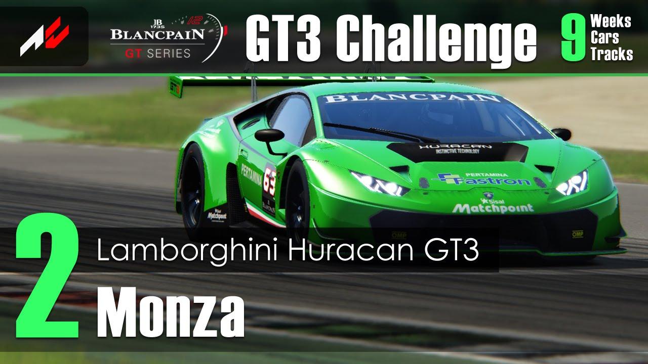 Assetto Corsa   GT3 Challenge #2   Monza   Lamborghini Huracan GT3  [1:48.513]