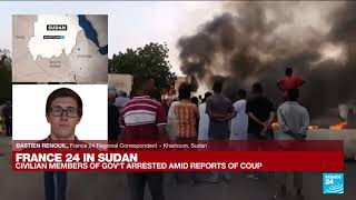 Gunfire, protests as Sudan's military seizes power in coup • FRANCE 24 English