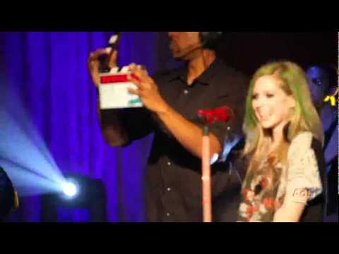 Avril Lavigne - Behind the Sessions (Live on AOL Sessions 2011)