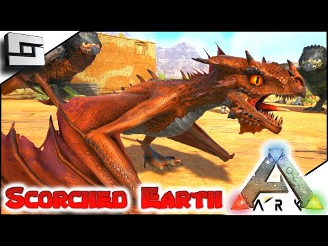 ARK: Scorched Earth - WYVERN BABY/EGG/MILK! E8 ( Scorched Earth Map Gameplay )