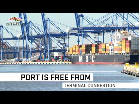 Ports America Investing in Baltimore