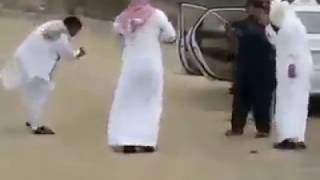 Arabic people dancing on Punjabi song