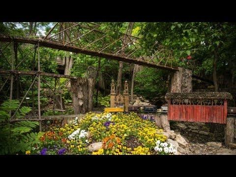 Omaha Botanical Garden! Railroad|