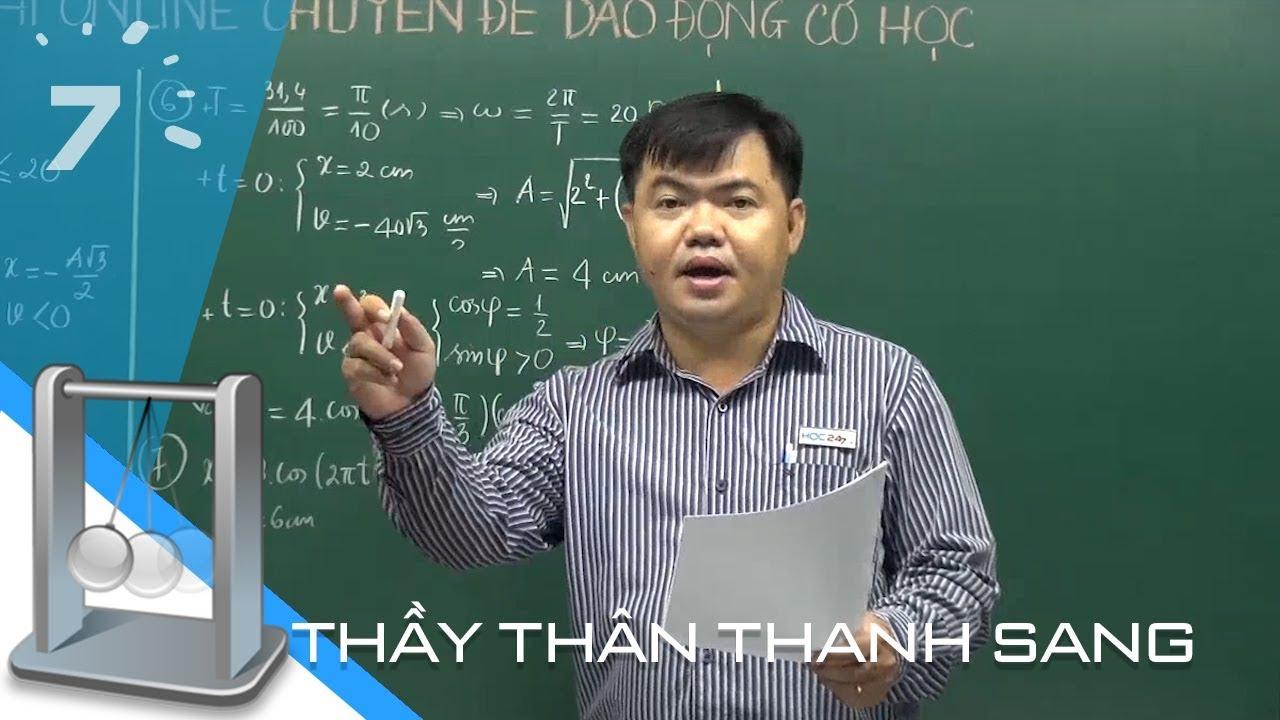 40 câu hỏi trắc nghiệm Dao động cơ Chương 1 Vật lý 12 cực hay | HỌC247