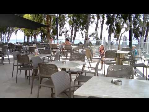 Harmony Bay Hotel Limassol, видео обзор недорогого отеля с собственным пляжем, отдых на Кипре 2015