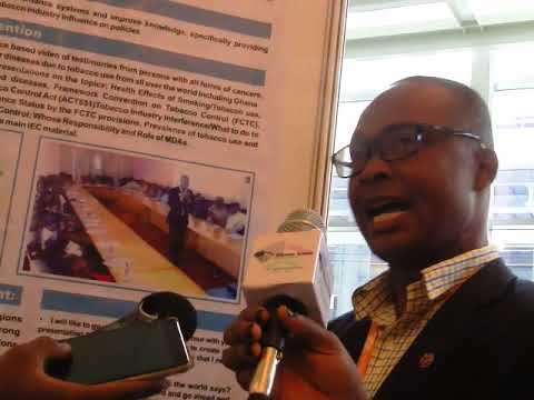 Ghana Health Service at the 17th World Conference on Tobacco or Health