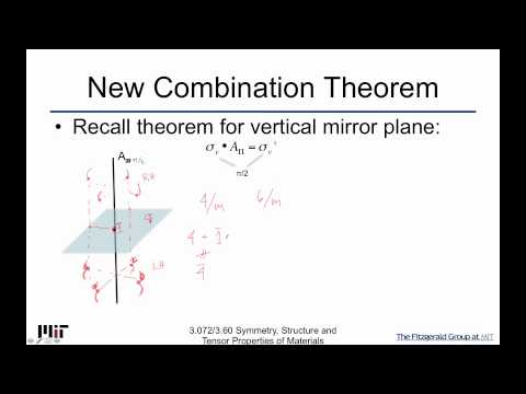Symmetry Structure and Tensor Properties of Materials Lecture 43