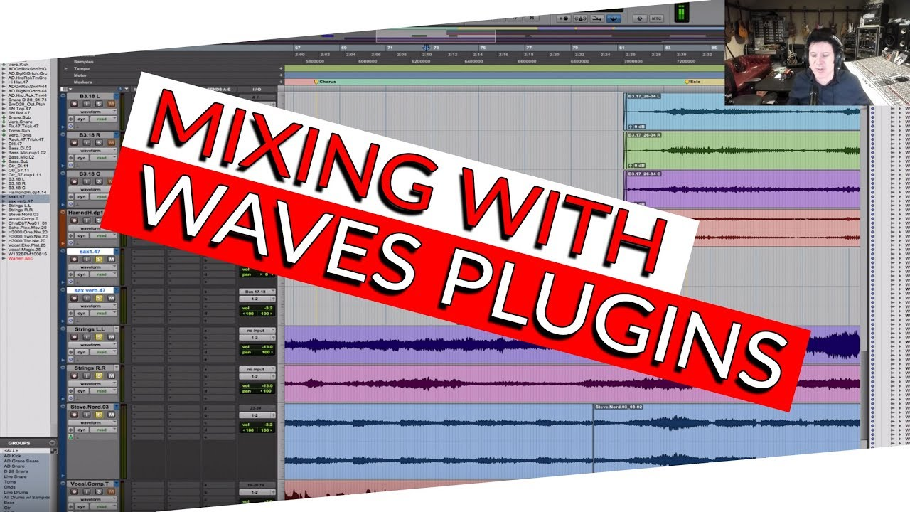 Mixing in the Box with Waves Plugins - Warren Huart: Produce Like A