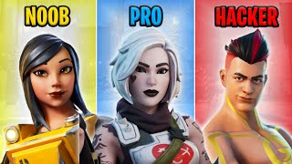 NOOB vs PRO vs HACKER - Fortnite Funny Moments #48
