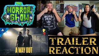 """""""A Way Out"""" 2017 E3 Video Game Trailer Reaction - The Horror Show"""