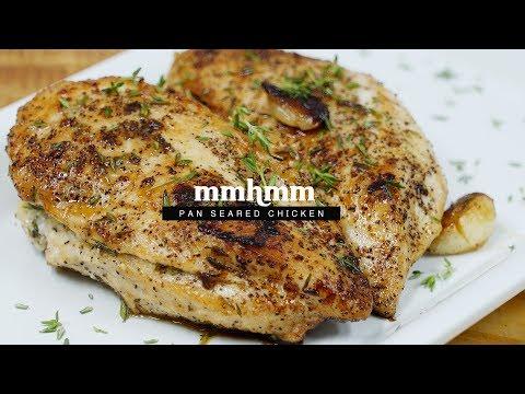 Pan Seared Chicken Breast   Mmhmm