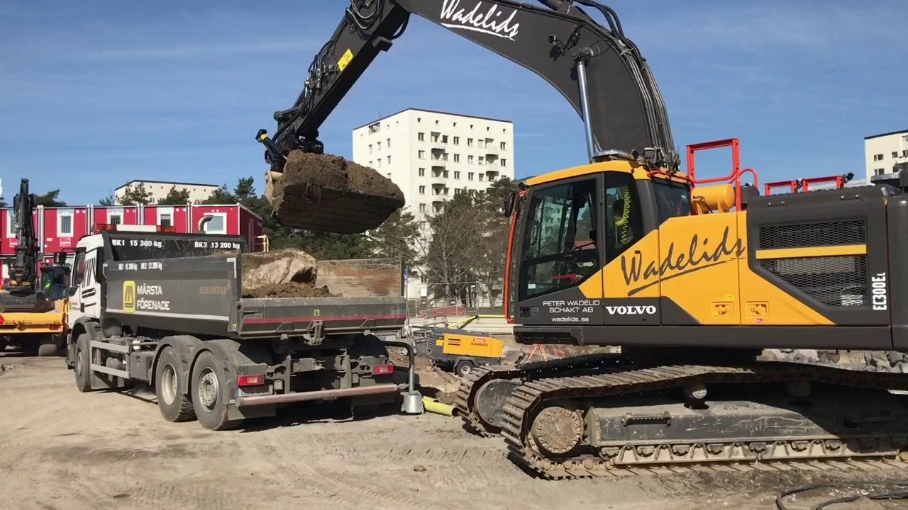 Volvo Ec300 - YouTube