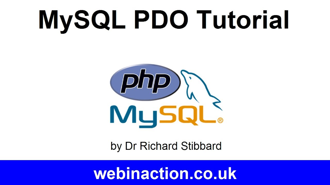 MySQL PDO Tutorial