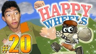 EL GRAN ESCAPE !! - Happy Wheels: Episodio 20 | Fernanfloo