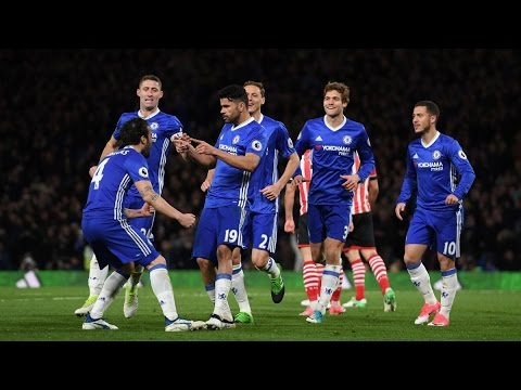 Chelsea vs Southampton 4-2 April 25th 2017 All Goals and Highlights!