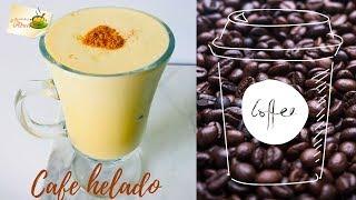 Cafe helado receta facil y deliciosa