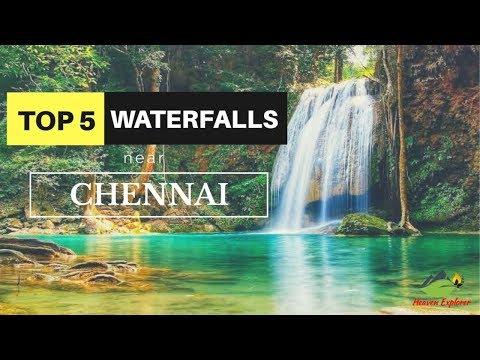 Top 5 Waterfalls trekking place | Must visit place near Chennai