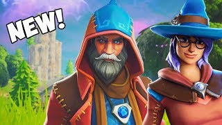 *NEW* CASTOR SKIN & ELMIRA SKIN *EPIC SKINS* Fortnite New Item Shop Today | November 15, 2018
