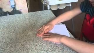 Как сделать самолетик истребитель из бумаги