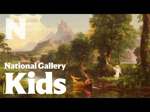 The Voyage of Life, 1842, Thomas Cole