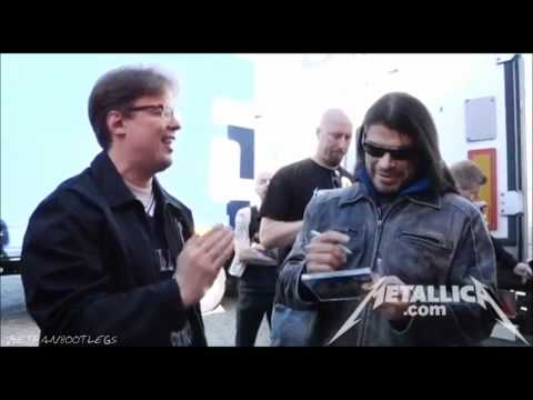 Metallica - Meet And Greet [Helsinki June 4, 2012] HD
