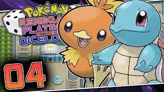 WE GET 6 STARTER POKEMON?! Pokemon Renegade Platinum Extreme Dicelocke Part 04 w/ HDvee