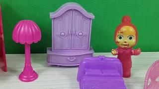 Masha Yeni Yatak Odası Aldı Maşa  Odasını Tanıtıyor