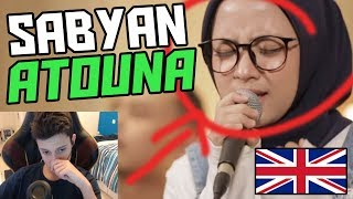 *EMOTIONAL* ATOUNA EL TOUFOULE - COVER BY SABYAN GAMBUS and NAGITA (Sabyan Reaction New 2018)