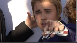 Justin Bieber with Workaholics Blessed by the Pope at his Comedy Central Roast in LA