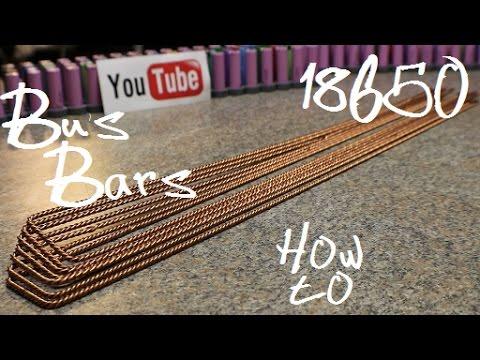 Diy Tesla Powerwall ep36 Making The Bus Bars