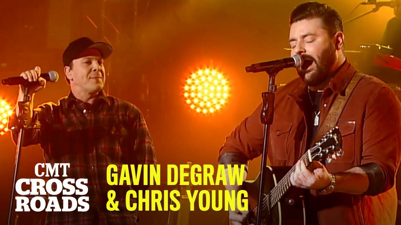 Gavin DeGraw & Chris Young Perform 'Raised on Country'   CMT Crossroads