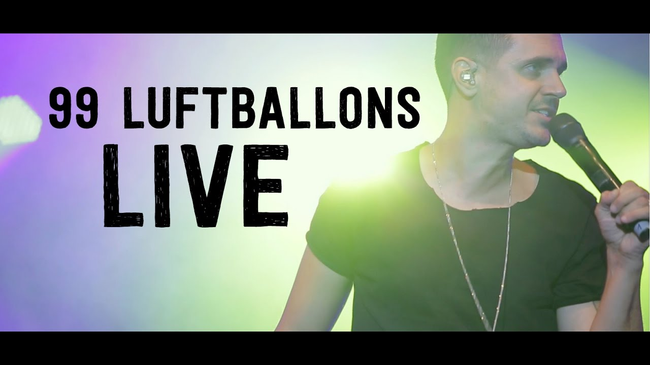 99 Luftballons Covered By SEVEN 2016 LIVE