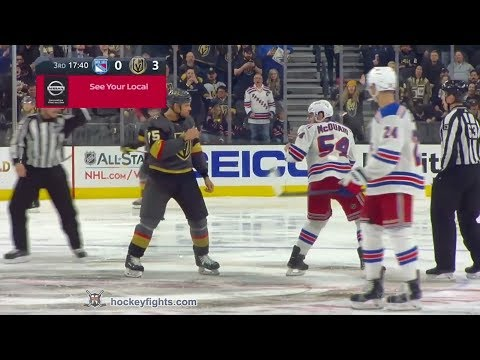 Adam McQuaid vs Ryan Reaves Jan 8, 2019