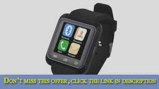 luxury u80 bluetooth 40 smart watch wrist wrap watch phone for ios apple iphone 44s55c5s android sam