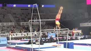 Daria Spiridonova - RUS - Bars  - 2020 World Cup Gymnastics, Melbourne, Australia