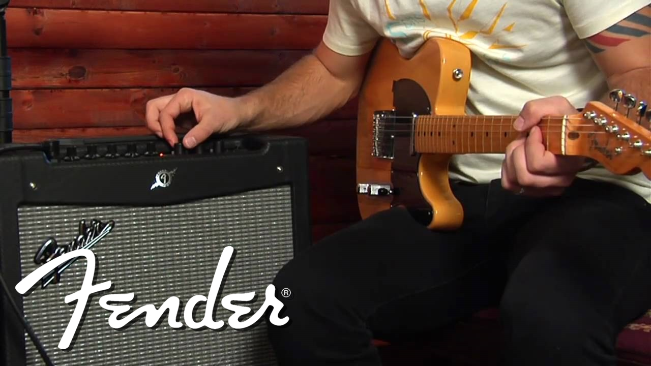 the all-new fender® mustang™ amplifier series | tutorial | fender