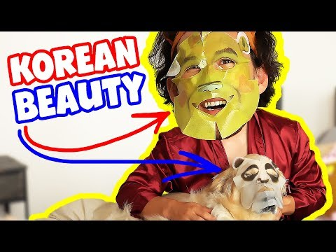 Markiplier Tries: KOREAN BEAUTY PRODUCTS
