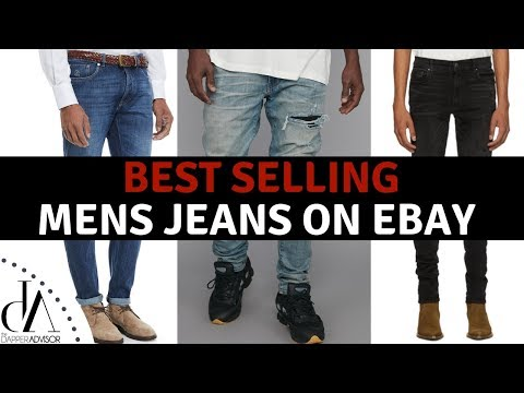 Best Selling Men S Jeans On Ebay Right Now Reselling Mens Denim Jeans On Ebay 2019 Youtube