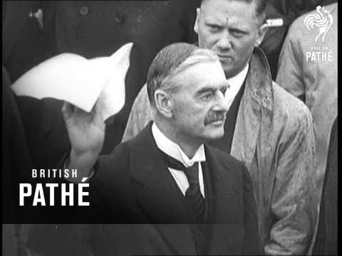 Peace Four Power Conference 1938 Youtube